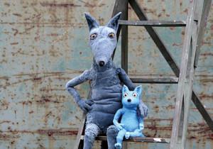 """Kindertheater        """"Großer Wolf & kleiner Wolf"""""""