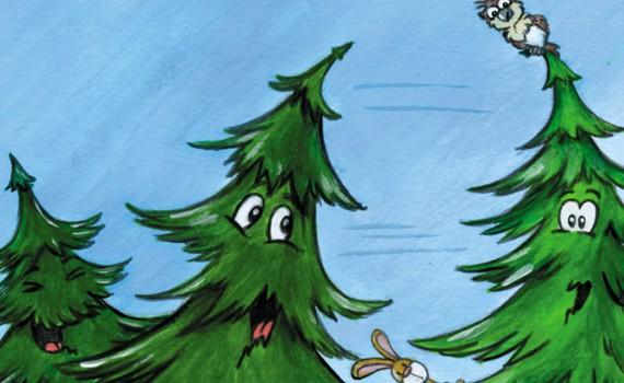 weihnachtsbaum Kindertheater