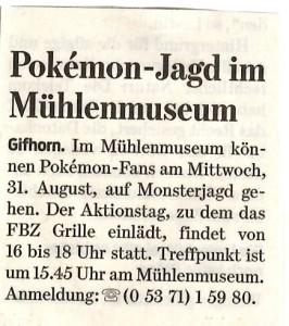 Gifhorner Rundschau 26.08.2016
